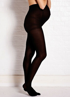 NEW - Noppies - Black Opaque Tights | Maternity Hoisery