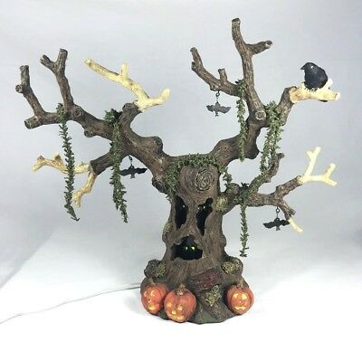 Department 56 Haunted Tree with Lights and Sound and Vibrations