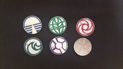 Epcot Center Logos 2015 Hidden Mickey Series WDW Disney Pins Set of 6