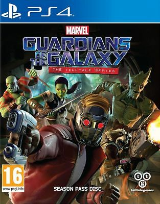 Marvel's Guardians of the Galaxy Telltale Series New PS4 Same Day Dispatch Free