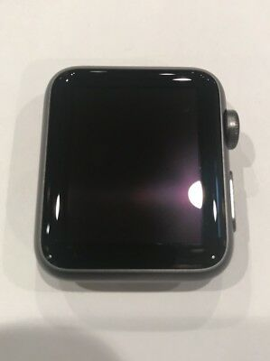 New Original OEM Apple Watch Sport 38mm Aluminum Case Black MJ2X2LL/A SmartWatch