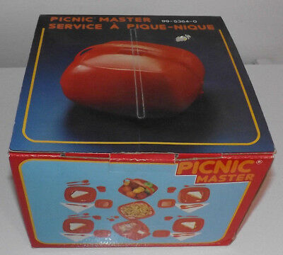 Vintage Picnic Master. Picnic Set. New in Box. Still wrapped inside. A Beauty