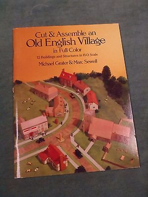 Cut & Assemble An Old English Village - Grater & Sewell/H-O Scale