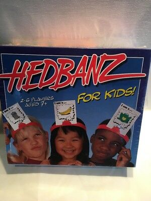 HEDBANZ For Kids Game New 1999 Sealed New Rare.