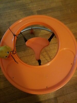 Vintage 1960's Baby Walker Hoola Coupe Circular Round Doll Display Collectible