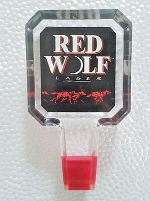 Red Wolf Beer Tap Top/Handle