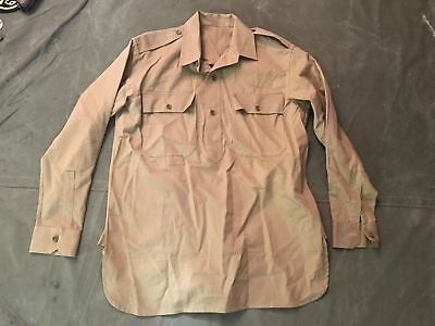 WWI US M1917 Officer Cotton Field Shirt Reproduction -Size Small 38R