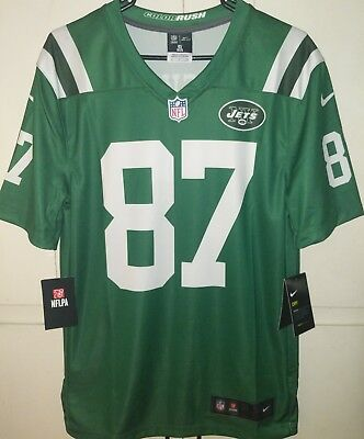 92f23e9a3e8 AUTHENTIC New York Jets Eric Decker 87 Nike Jersey Style 821813-302 Size  Small S