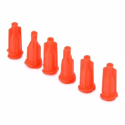100/200/500/1000x Syringe Luer Stop Cap Injector Glue Needle Sealing Plug Lots