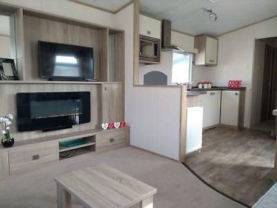 For sale new static caravan holiday home in South Devon with sandy beach!