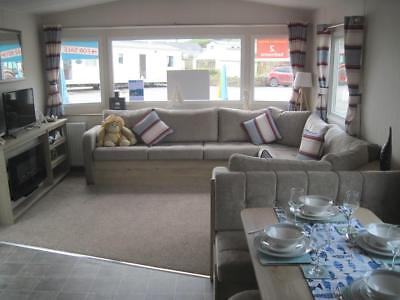For sale new static caravan holiday home in South Devon- sandy beach!