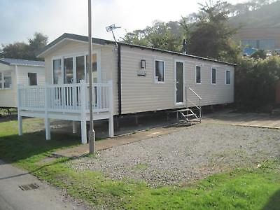 For sale new static caravan holiday home sited in South Devon with sandy beach!