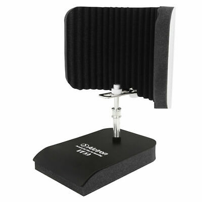 Studio Microphone Isolation Shield Mic Cover Sponge Foam Windscreen Vocal Booth