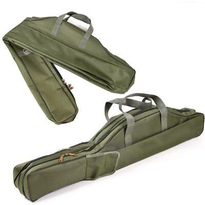 Rod Holdall Carp Fishing Bags Outdoor Travel Folding Padded Tackle Reel Storage