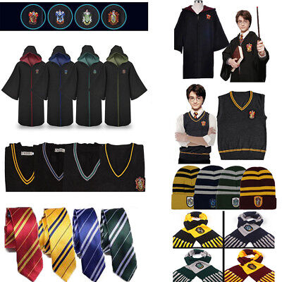 Figli adulti di Harry Potter Robe mantello Costume cravatta sciarpa Cosplay 2018