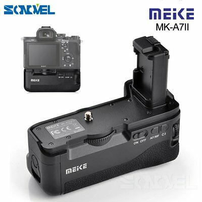 Meike MK-A7II Battery vertical Grip for Sony A7 II A7R II as Sony VG-C2EM