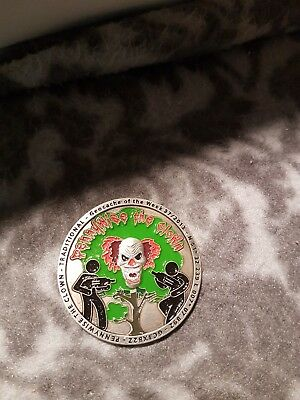 """Geocoin Pennywise the Clown, exklusive Serie """"Besondere Caches"""""""