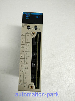 USED 1PC OMRON PLC CS1W-AD081-V1 Tested It in good condition