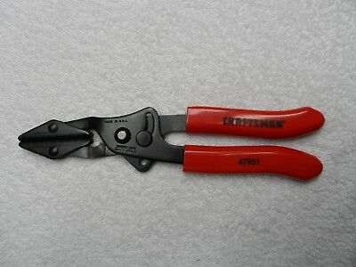 "Craftsman Hose Pinch Pliers, Medium, 1-1/4"" - USA NOS - Part # 47051"