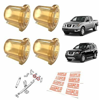 Rear Leaf Spring End Bushing Polyurethane For 2004-15 Nissan Frontier Navara D40