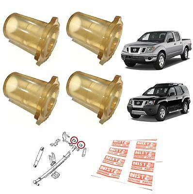 Rear Leaf Spring End Bushing Polyurethane For 2004-15 Nissan Navara Frontier D40