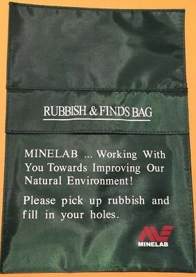 Minelab Green Rubbish & Finds Bag