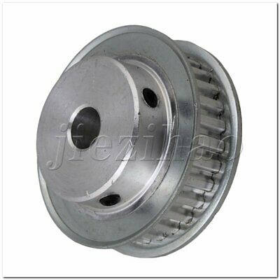 XL 30 Teeth Aluminum Timing Belt Pulley 10mm Bore for Stepper Motor 2 Flange