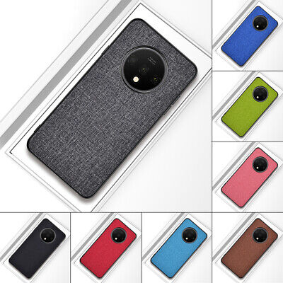 For OnePlus 6T 6 5 Fabric Shockproof Magnetic Rubber Soft TPU Hybrid Case Cover