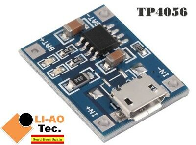 TP4056 1A 5V Lithium Battery Charging Module Micro USB Interface