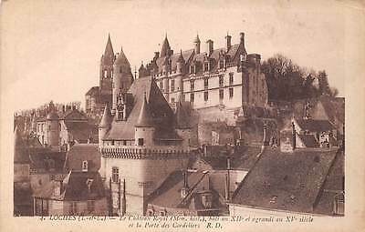 France Loches Le Chateau Royal et la Porte des Cordeliers
