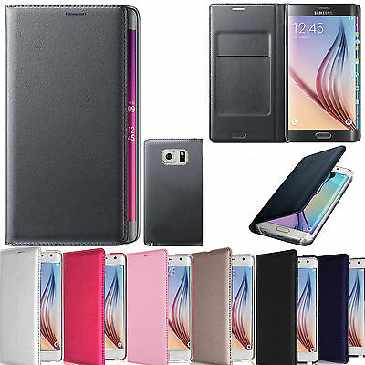 New Generic Smart Flip Wallet Book Case Cover For Samsung Galaxy S6 Edge Sm-G925