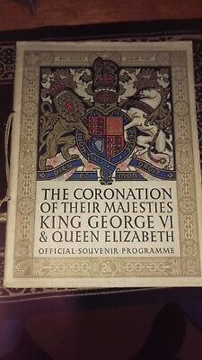 The Coronation of their Majesties King George VI & Queen Elizabeth  book