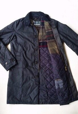 Barbour Nairn Men's Waxed-Cotton Insulated Jacket - Olive, Navy, Size M, L, XL