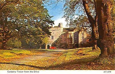 Scotland Carberry Tower from the Drive, Charles Skilton's Postcard Series