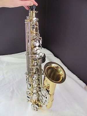 Selmer AS 500 Student E-Flat Alto Saxophone, Cleaned and Ready to Play, EX Cond