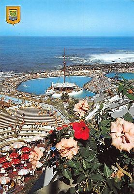 Spain Puerto de la Cruz Tenerife Piscinas Costa Martinez swimming-pools