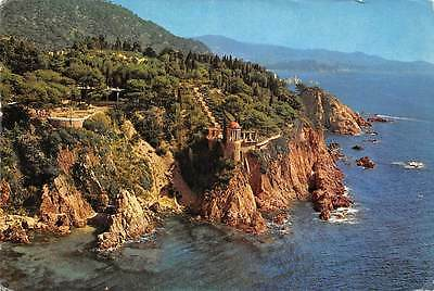 Spain Blanes Costa Brava, Que The Partial view of his Steep and the Botanic