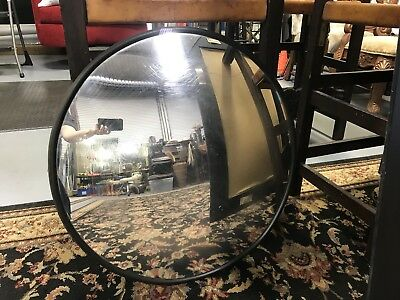 """Used 26"""" Convex Security Driveway Mirror With Bracket In Good Used Condition"""