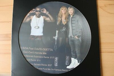 David Guetta feat. Florida - Hollywood 12 ; Picture Vinyl