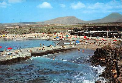 Spain Tenerife Costa del Silencio Coast of Silence Swimming Pool