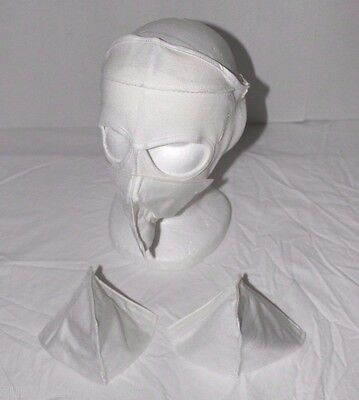 (2) Army British Military Surplus MK2 Flame Resistant Extreme Cold Weather Mask