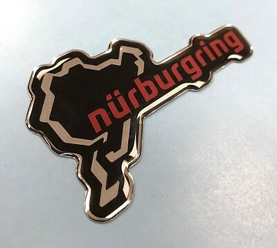 Nurburgring Circuit Sticker/Decal - 80mm HIGH GLOSS DOMED GEL FINISH