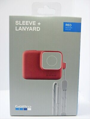 GoPro Sleeve + Lanyard for HERO 7 Black & HERO6 & HERO5 & HERO ACSST-005 (Red)
