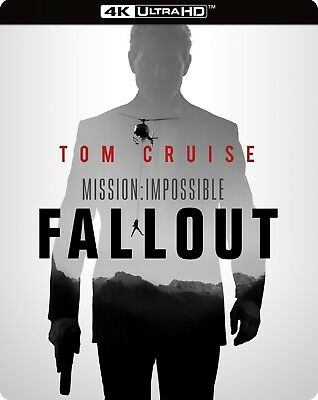 Mission: Impossible - Fallout (SteelBook)(4K Ultra HD)(UHD)