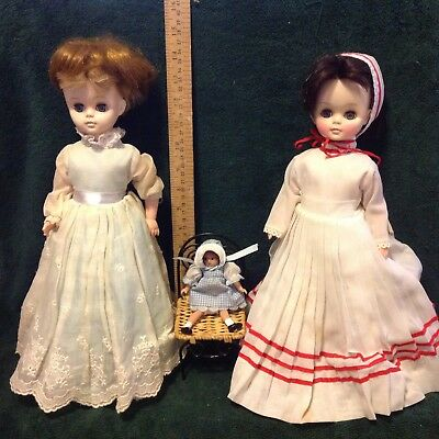 Effanbee doll lot with Wee Patsy