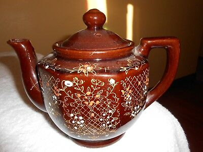 Vintage Made in Japan Hand Painted Teapot