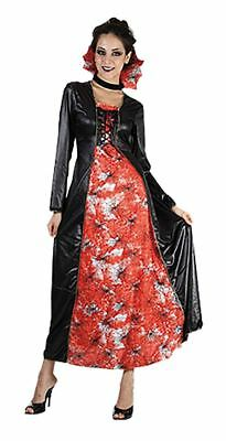 Women Halloween Fancy Dress Party Outfit Queen of the Web Witch Costume One Size