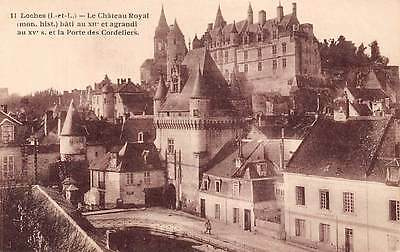 France Loches Le Chateau Royal Castle Schloss
