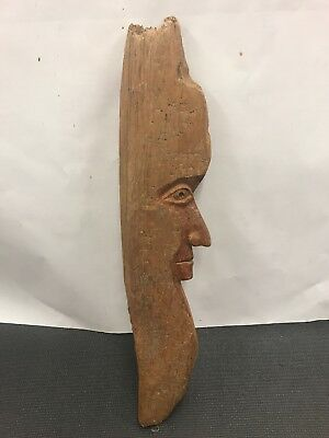 vintage hand carved man Of The Woods Great Collectable Great Piece