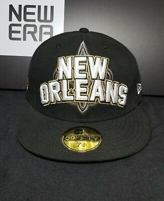 New Orleans Saints New Era 59Fifty NFL Official 2012 Draft Fitted Cap Hat 7- 6162fd4ff